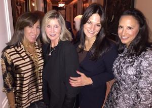 Nina Mariano, Kathleen Casey, Donna Rotunno and Toni Canada
