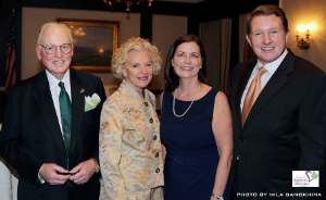 Alderman Ed Burke, Justice Anne Burke, Sheila McGinn Dorman and Keith Dorman
