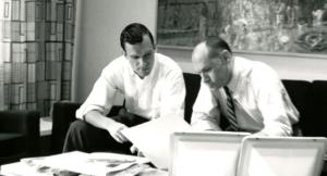 Hugh Hefner (Hef) and Art Paul--A Dream Team collaboration