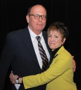 David Hawkanson and Barbara Gaines--Chicago Legends