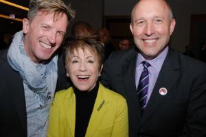 Ashley C. Wheater, Barbara Gaines and Greg Cameron