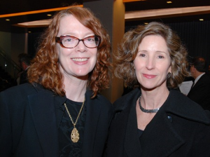 Alison Cuddy and Jenny Siegnthaler