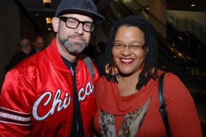 Kevin Coval and Emily Lansana