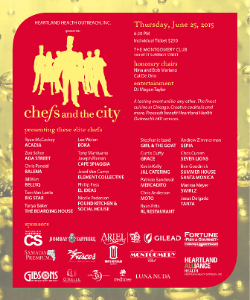 Chefs and the city Invite