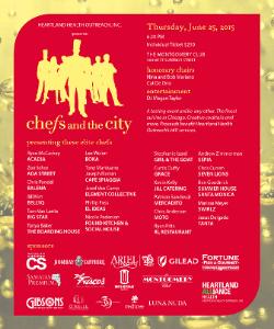Chefs and the city Invite