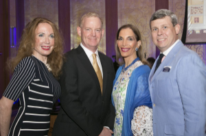 Eileen Howard-Weinberg, Gala Co-Chair, Dr. Jonathan Rubenstein, Gift of Sight Honoree, Susan Gohl, Woman of Vision and Dr. David Donnersberger, Gala Co-Chair