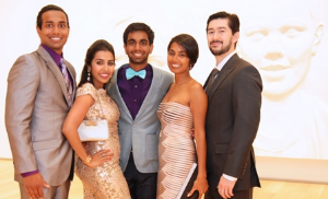 Neil Warren, Chytra Anand, Ethan Warren, Monica Rani and Geoffrey Lee