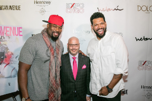 Izzy Idonije, Dan Uslan and Hebru
