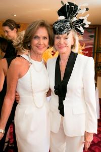 SC president Myra Reilly and Mamie Walton.