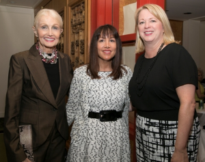 Hazel Barr and Neiman Marcus Michigan Avenue's Wendy Krimins and Tina Koegel.