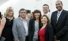 Mary Ann and Phil Fuentes, Paula and Ed Kmetz, Dorene Dominquez and Sam Jones.