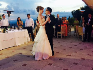 Elena and Peter Kuo's first dance!