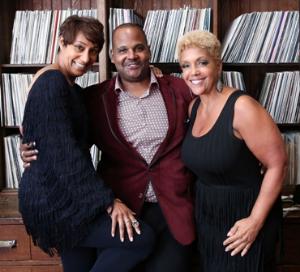Desiree Rogers, Frederick Dunson and Linda Johnson Rice