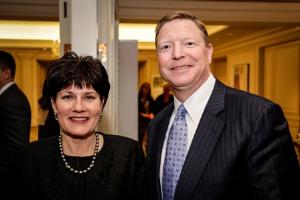 CHF board members and co-chairs R. Scott Falk and Alegra Biery.