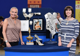 Antiques Roadshow shot in Playboy