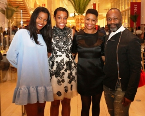 Ashley Shaw, Scott Adjaye, Victoria Rodgers and Theaster Gates