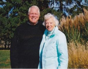 Chuck with his mom Jean Jordan