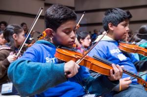 New El Sistema orchestra members