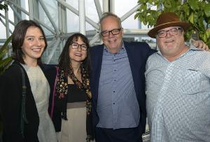 CHOF 2015 Hannah Jacobs, Cathy and Tony Mantuano and John Hogan
