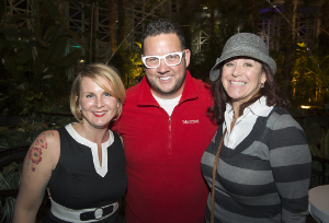 CHOF 2015 Julia Shell, Graham Elliot, Cathy Sullivan
