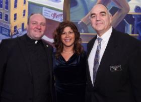 Father Dan Brandt, Brenda Tracy, Rabbi Moshe Wolf