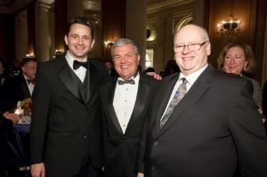 Ken Clarke, Daniel Schmidt, WTTW CEO, Gary Johnson pres/Chicago History Museum