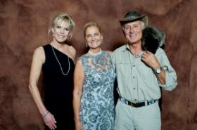 Cheri Lawrence, Reute Butler and Jack Hanna