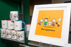 Peanuts personalized gifts! (Photo by Sebastian Biedron)