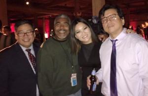 Ji Suk Yi and friends