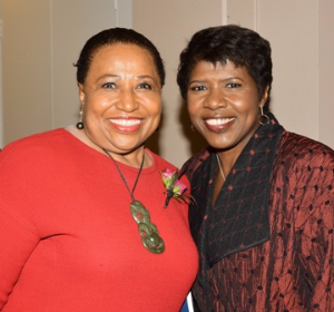 Carol Moseley Braun and Gwen Ifill