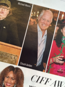 Chuck in Michigan Avenue Magazine!