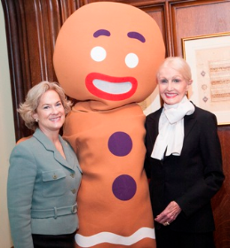 Melissa Babcock, Gingerbread Man and Hazel Barr