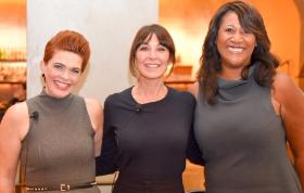 Kathleen Henson, Tamara Mellon, Dorri McWhorter