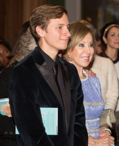 Yvette's son Alec Klobuchar and her mom Mira Horoszowski