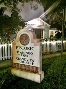 Flamingo Park, a charming historic district in West Palm Beach