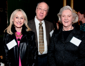 Gail Leahy, Roger Myerson and Jane Velde