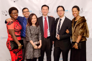 CYSAshlei and Derrick Coleman-Turner, Linda Choi and Michael Tai, CP Chang and Jessica Young