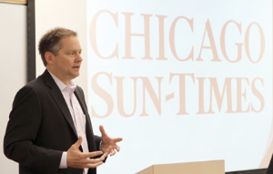 Jim Kirk, Sun-Time's publisher/editor-in-chief