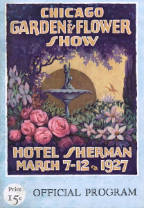 1927 Chicago Garden & Flower Show Program