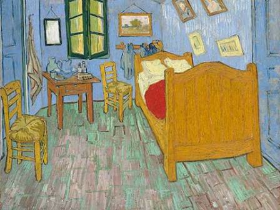 Van Gogh's painting of his bedroom at Arles