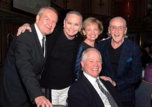 With Legendary Landmark friends Michael Kutza and Victor Skrebneski and Chuck and Mary Lou Gorno