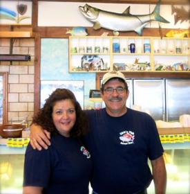Best Traditional Winners Teresa (Terry) and Dirk Fucik (Dirk's Fish & Gourmet)