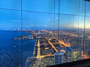 Digital views from 95th floor