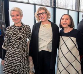 Frances Bronet (IIT Provost), Justine Jentes and Nancy Berman