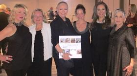 With Renata Block, Christine Mallul, Randi Moxi and Cari Meyers
