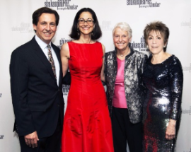 Criss Henderson (exec. dir), honoree Anne Pramaggiore, Sheli Rosenberg and Barbara Gaines (artistic director)