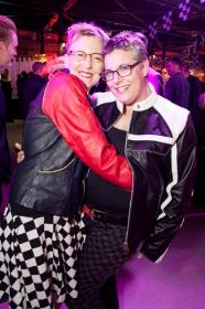 Debbi Vanni and Board member Amy Hutchison