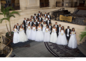 2016 Links Cotillion Debutantes and Escorts
