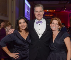 Dr. Maria Carrillo, Dave and Betsy Goltermann