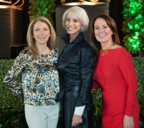 Spirit of Design co-chairs Mary Pat Wallace, Holly Hunt and Barbara Todd